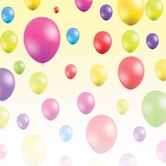 Zusammenfassung Illustration mit Luftballons