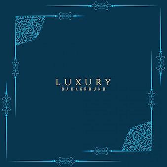 Zusammenfassung Luxus Rahmen Hintergrund