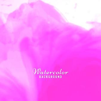 Zusammenfassung rosa Aquarell Hintergrund