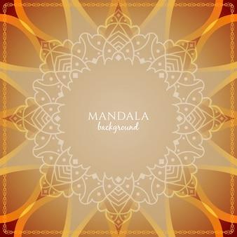 Zusammenfassung schöne Mandala Design Hintergrund