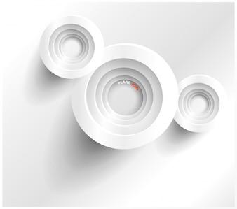 Zusammenfassung Web-Design-Blase, Vektor