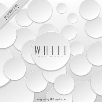 Zusammenfassung weißen Hintergrund mit Kreisen