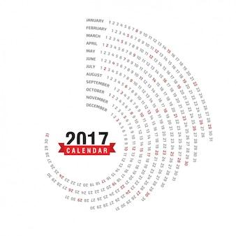 2017 projeto do calendário