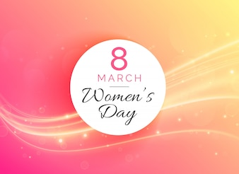 8 de Março de mulher internacionais celebração do dia fundo