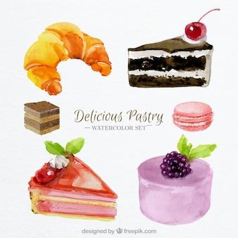 A deliciosa pastelaria