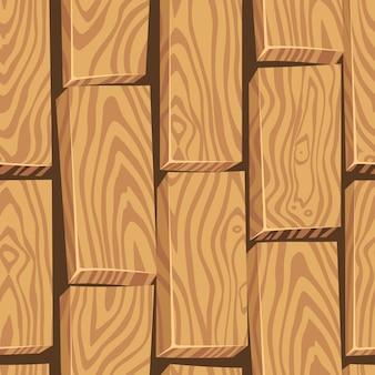 A madeira clara textura do estilo dos desenhos animados