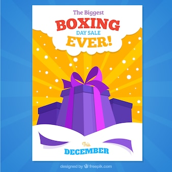 A maior venda Boxing Day nunca, poster