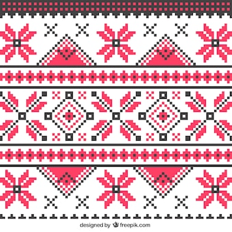 Abstract padrão de tricô