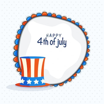 Abstratos, julho, bandeira, celebração, patriótico