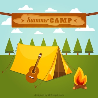 Acampamento de verão