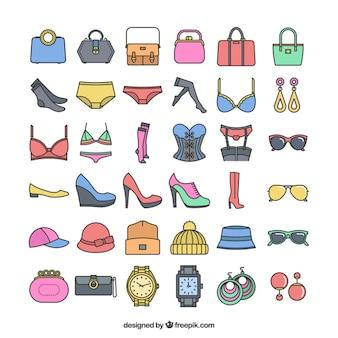 acessórios de moda icônicas