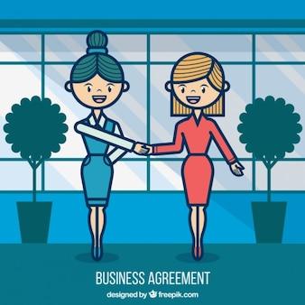 Acordo do negócio
