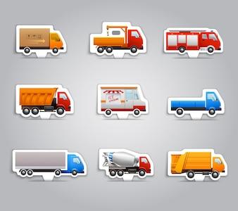 Adesivos de papel para caminhão