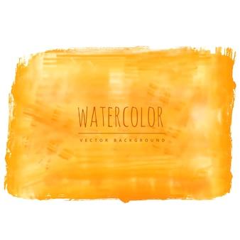 Amarelo, aquarela, mancha, vetorial, fundo