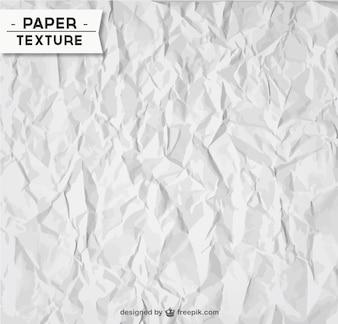 Amassado textura de papel