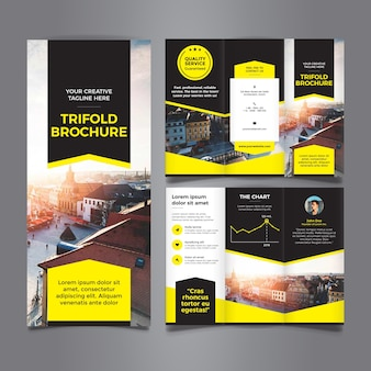 Amazing Trifold Brochure Template