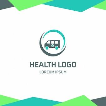 Ambulância Logo Saúde