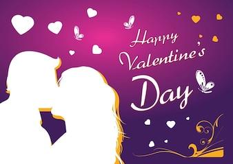 amor livre arte vetorial cartão
