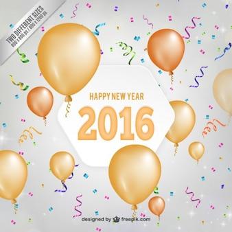 Ano novo fundo confetti