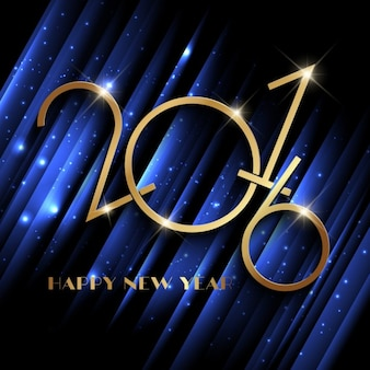 Ano novo Sparkly fundo azul