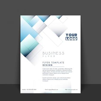 Apresentação flyer profissional fundo publicidade