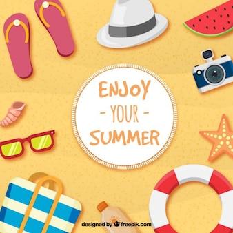 Aproveite o seu verão
