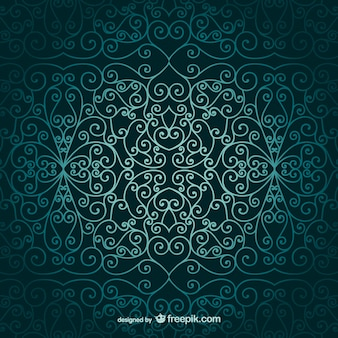 Arabic wallpaper ornamental