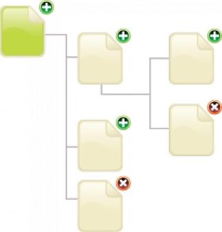 arquitetura de informação ícones