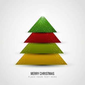 Árvore de Natal colorida