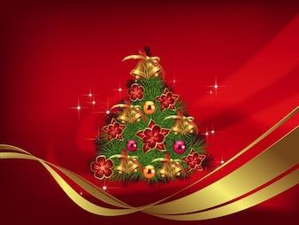 Árvore de Natal do vetor