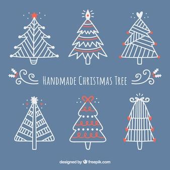 Árvores de Natal Handmade