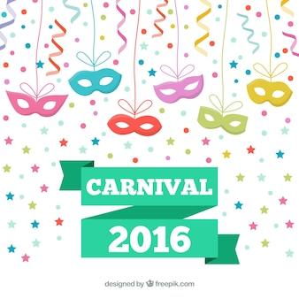 As máscaras de olho para carnaval 2016