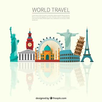 As viagens pelo mundo
