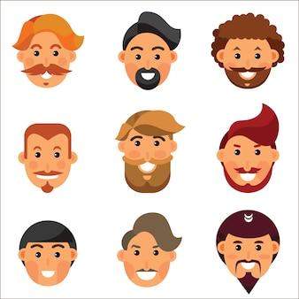 Avatares de homem farpado