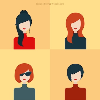 Avatars Mulheres