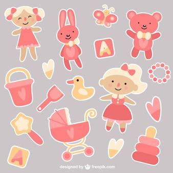 Baby girl brinquedos