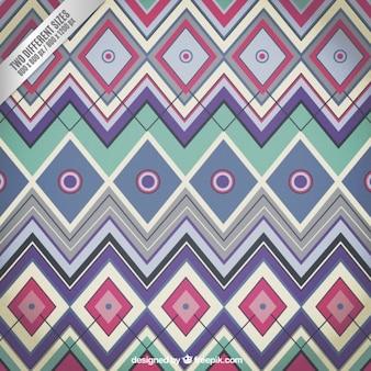 Backrgound geométrico no estilo colorido
