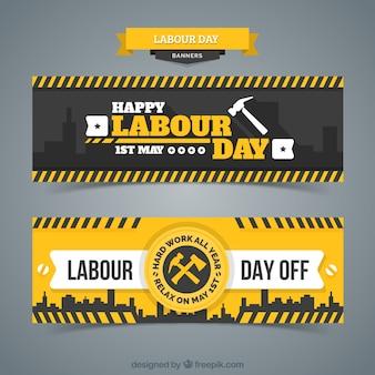 Bandeira do dia de trabalho