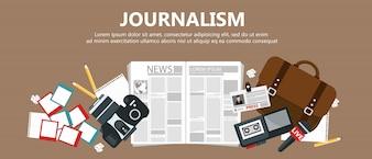 Banner de jornalismo