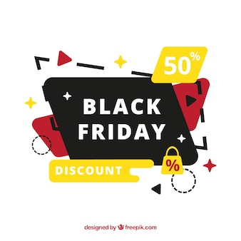 Banner Multicolor Black Friday