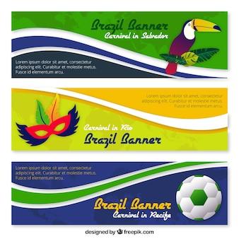Banners Carnaval embalar