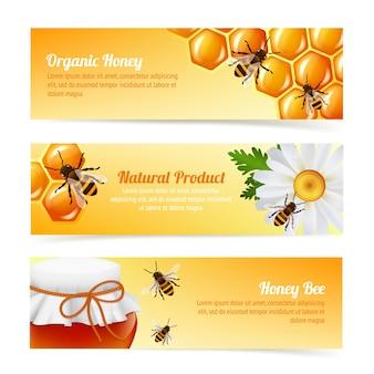 Banners de abelhas