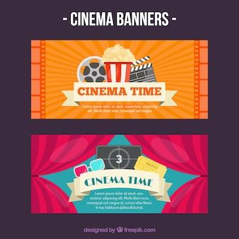 Banners de acessórios de filme