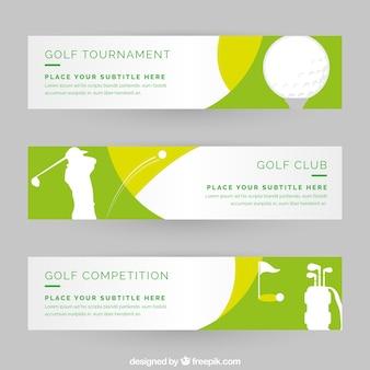 Banners de golfe