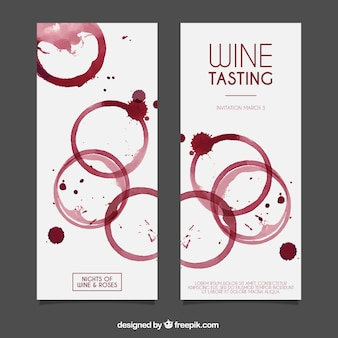 Banners de vinho