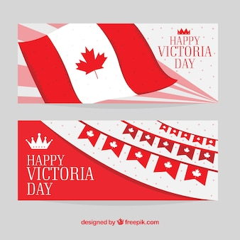 Banners do Dia da Vitória