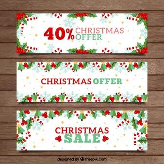 Banners venda do Natal
