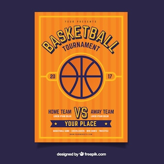 Basketball brochura torneio