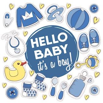 Bebê coleção designs chuveiro
