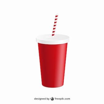 Bebida com palha